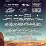 Cartel completo Monegros Desert Festival 2013