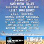 Cartel completo Dreambeach Villaricos