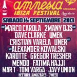 Amnesia Ibiza Festival cierra cartel.