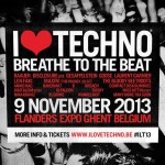 Segundo avance I Love Techno