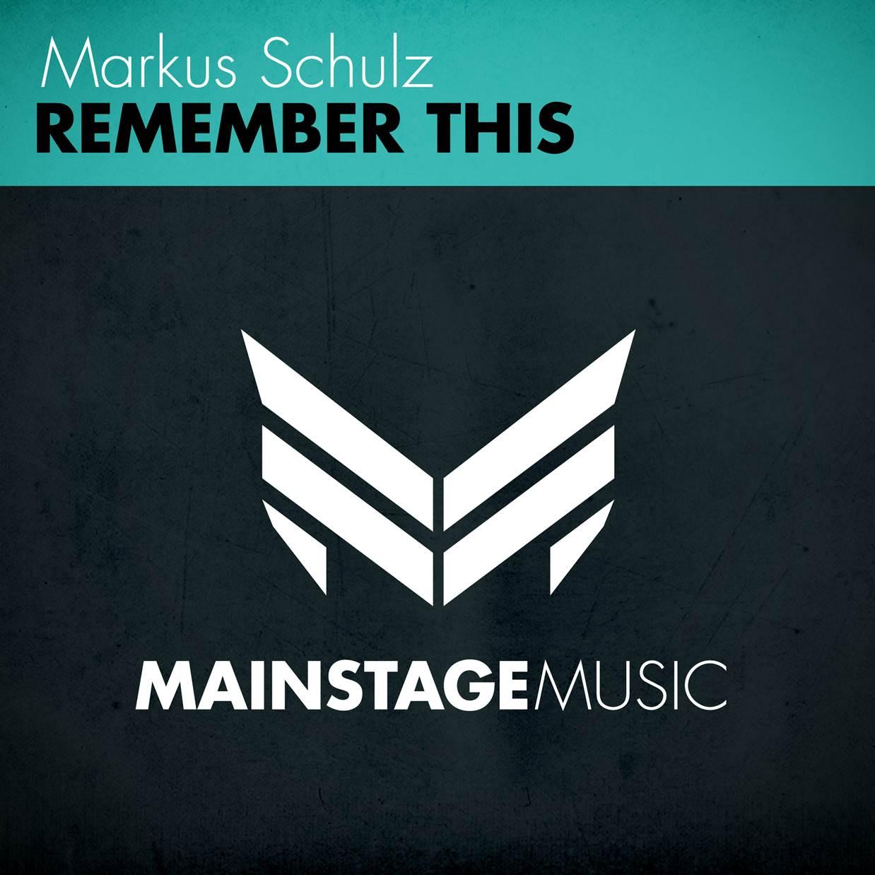Markus Schulz - Remember This_nrfmagazine