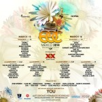 Cartel Completo Electric Daisy Carnival Mexico
