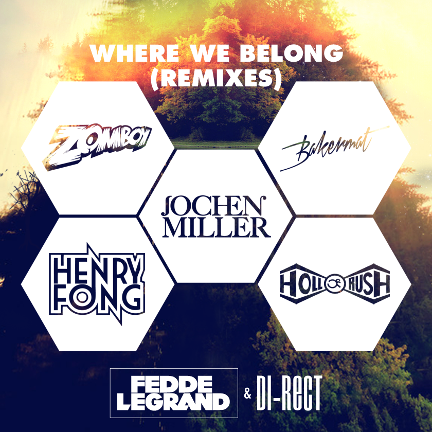Fedde Le Grand & DI-RECT - Where We Belong EP Remixes_NRFmagazine