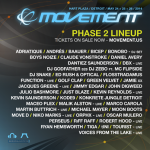 2º avance para Movement 2014