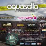 Segundo avance cartel Aquasella Fest 2014