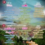 Aquasella anuncia el reparto de artistas por zonas y días