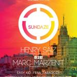 Henry Saiz B2B Marc Marzenit en Sundaze Madrid