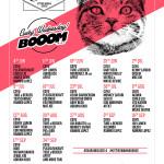 Lineup completo Suara en Booom (Ibiza)