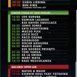 Horarios para Monegros Desert Festival 2014