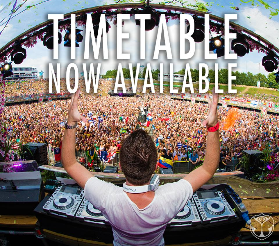 Timetable Tomorrowland 2014_NRFmagazine