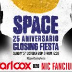 Nuevos detalles de la Closing Party de Space Ibiza 2014