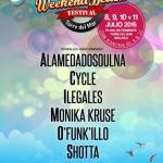 Weekend Beach Festival 2015 anuncia su tercer avance