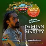 Damian 'Jr.Gong' Marley se suma al line up de Weekend Beach Festival 2015