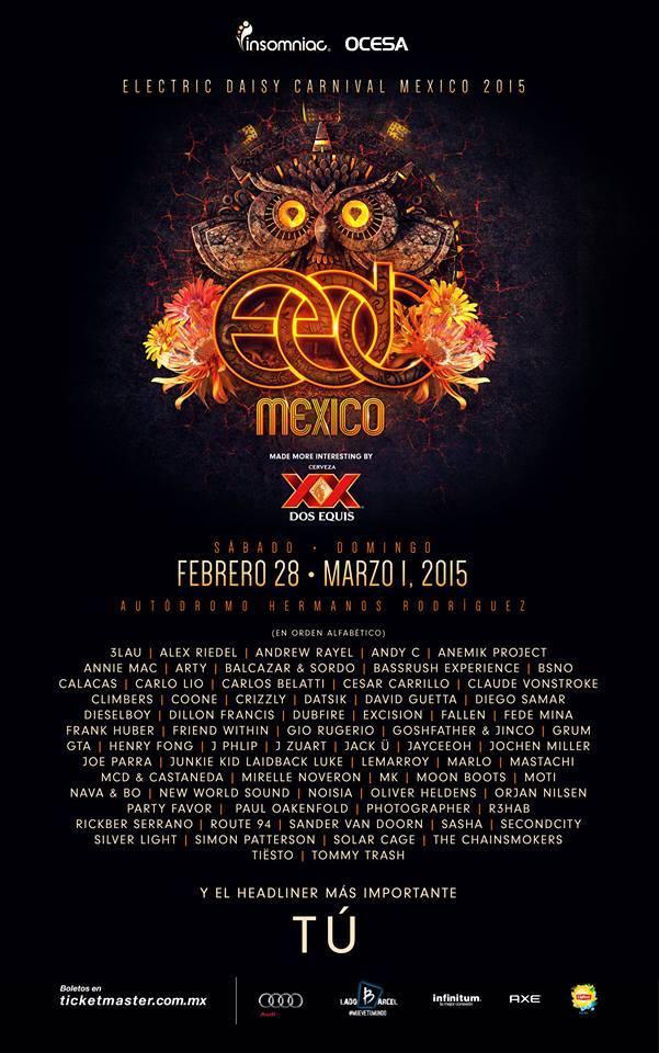 EDC Mexico 2015 cartel completo_NRFmagazine