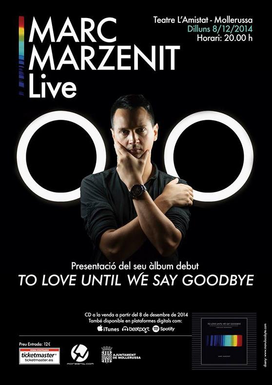 Marc Marzenit presenta álbum debut en Teatre L´Amistat_NRFmagazine