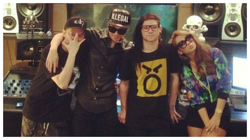 Skrillex - Dirty Vibe with Diplo, G-Dragon & CL (official video)_NRFmagazine