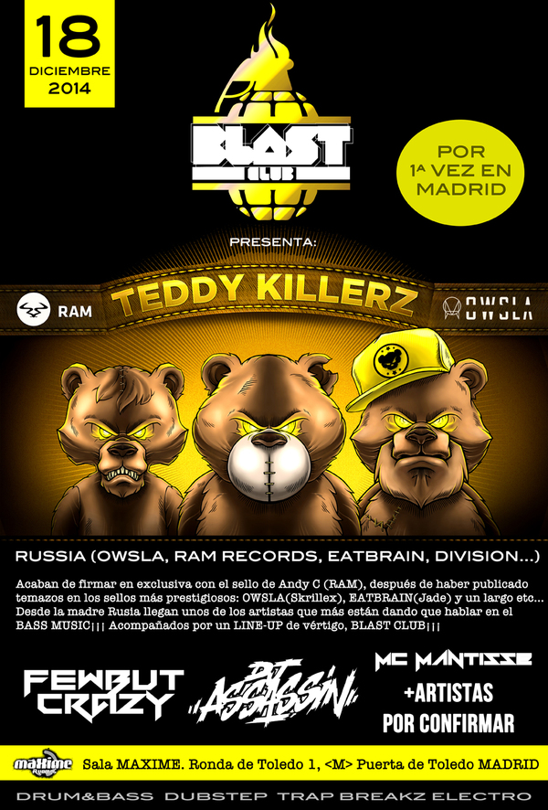 Teddy Killerz en Blast Club_NRFmagazine