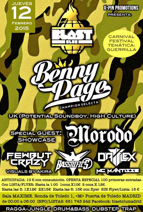 Benny Page Blast Club_NRFmagazine