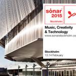 Últimos detalles para el Sónar Estocolmo 2015