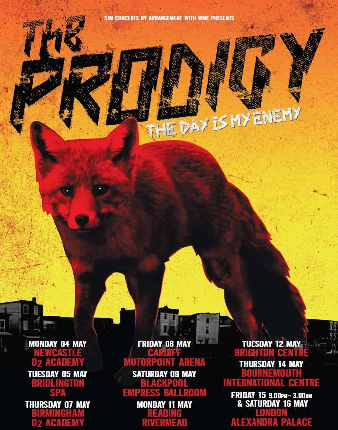 The PRODIGY - The Day Is My Enemy UK Tour_NRFmagazine