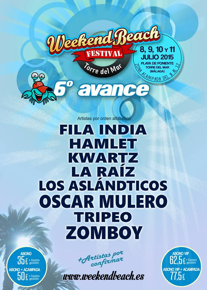 Weekend beach festival 6 avance 2015_NRFmagazine