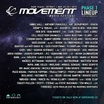 Movement anuncia sus primeros confirmados para 2015