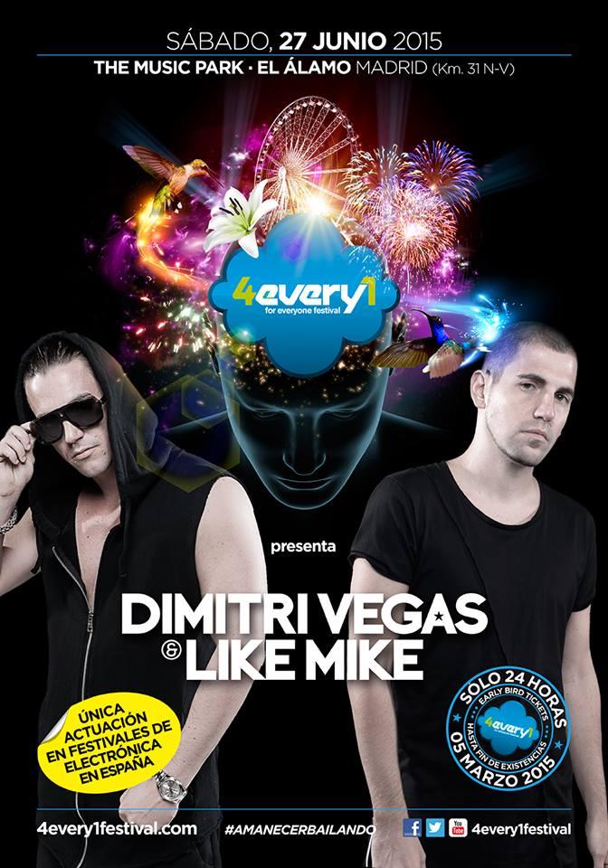 Dimitri Vegas & Like Mike 4every1 festival_NRFmagazine