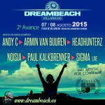 Dreambeach Villaricos desvela su 2º avance para 2015