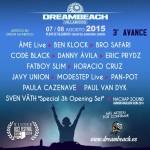 Dreambeach Villaricos anuncia su 3º avance de cartel