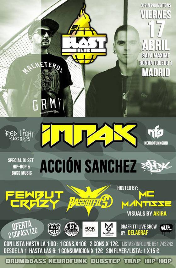 Acción Sanchez & IMPAK @ Blast Club_NRFmagazine