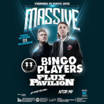 Flux Pavilion y Bingo Players aterrizan en Massive (La Riviera)