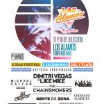 Albert Neve y Les Castizos, las nuevas incorporaciones de Los Álamos Beach Festival