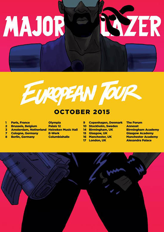 Major Lazer european tour 2015_NRFmagazine