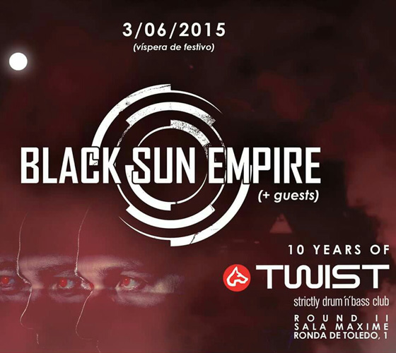 Twist Club 10 Aniversario con Black Sun Empire_NRFmagazine