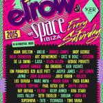 elrow Ibiza anuncia el lineup completo para su temporada 2015