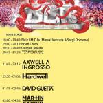 Horarios Main Stage BBF Barcelona Beach Festival 2015