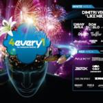Horarios 4EVERY1 Festival 2015