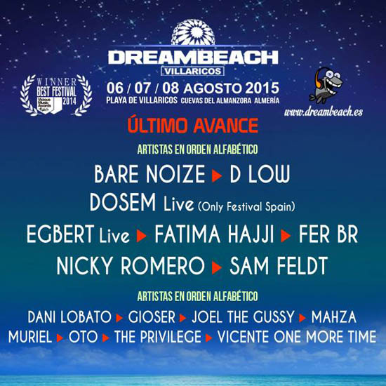 Dreambeach 2015 cierra cartel_NRFmagazine