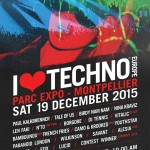 I Love Techno Europe desvela su lineup