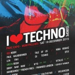 Distribución por escenarios en I Love Techno Europe