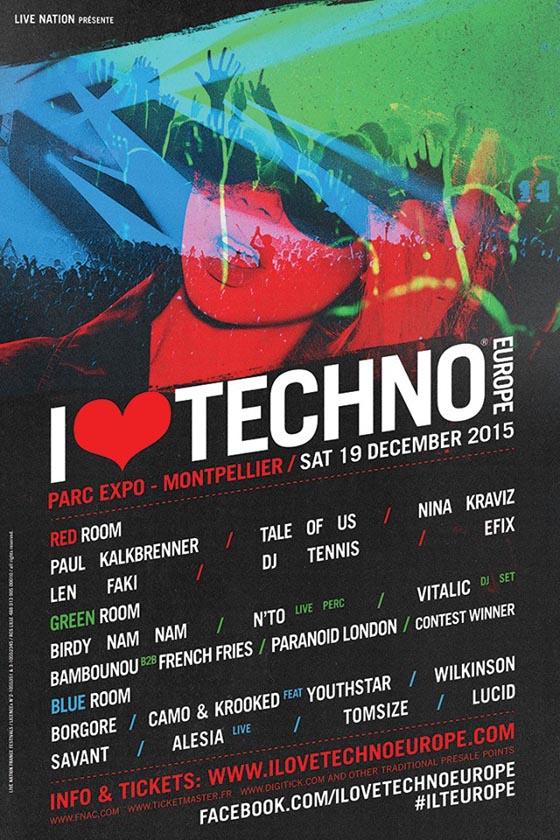I love techno europe 2015 escenarios_NRFmagazine