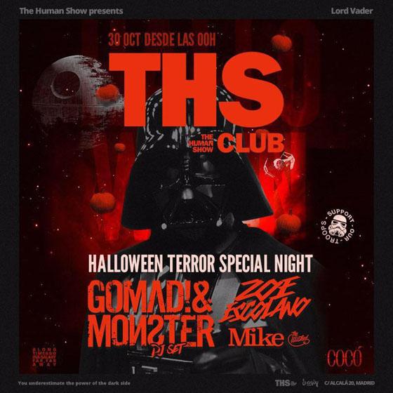 Halloween THS CLUB con Gomad! & Monster_NRFmagazine