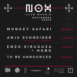 NOX Club Madrid anuncia su programación para Noviembre