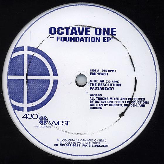 Octave One - Foundation EP_NRFmagazine