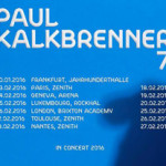 Paul Kalkbrenner desvela las primeras 20 paradas de su Concert Tour 2016
