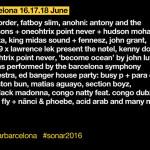 Sónar Barcelona 2016 anuncia su 1ª fase de confirmados