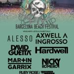 Barcelona Beach Festival anuncia sus primeras confirmaciones para 2016