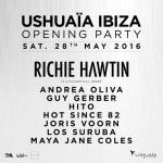 Ushuaïa Ibiza anuncia el lineup de su Opening Party   2016