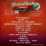 Weekend Beach Festival incorpora a su 3ª edición 17 nuevas confirmaciones