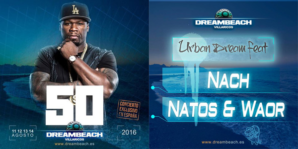 50 Cent, Nach, Natos & Waor @ Dreambeach Villaricos_NRFmagazine